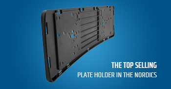 Top selling plate holder