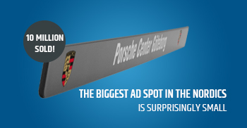 10 million sold - Biggest ad spot in the nordics
